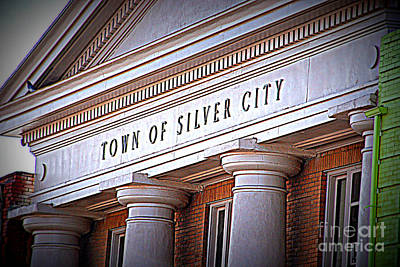 Silver City Photograph - Town Of Silver City New Mexico by Susanne Van Hulst