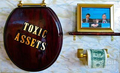 Toxic Assets Original by Dawn Graham