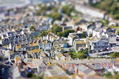 Miniature Effect Photograph - Toy Town View by Simon Bratt Photography LRPS