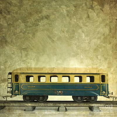 Miniature Effect Photograph - Toy Train by Bernard Jaubert