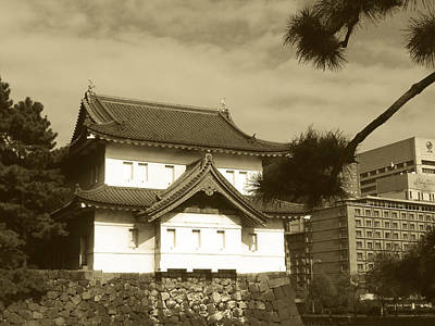 Traditional Photograph - Traditional Building In Tokyo by Naxart Studio