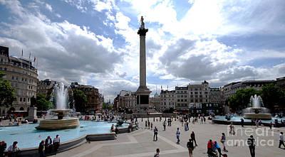 Trafalgar Square Print by Pravine Chester