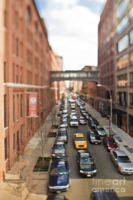 Gridlock Photograph - Traffic Jam by Eddy Joaquim