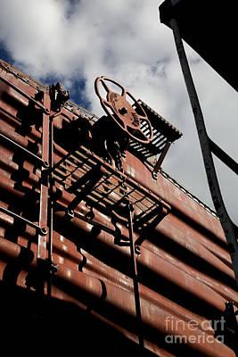 Leda Photograph - Train Car by Leslie Leda