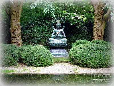 Tranquil Buddha Print by Lainie Wrightson