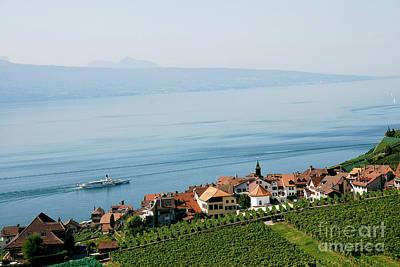 Tranquil Lake Geneva Print by Ivy Ho