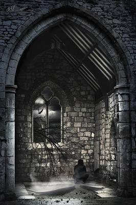 Spooky Digital Art - Transformation  by Svetlana Sewell