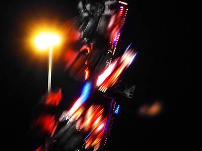 Ride Digital Art - Transformer by Charles Stuart