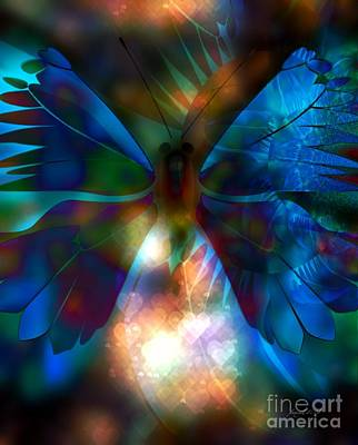 Yesayah Digital Art - Transforming Hearts by Fania Simon