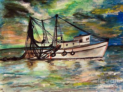 Trawling Original by Isabella Abbie Shores