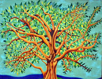 Tree Of Life Print by Fraida Gutovich