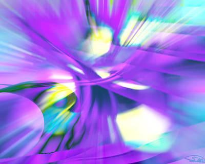 Blue Digital Art - Tree Of Light by Shondrea M