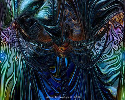 Digital Digital Art - Tremendous Overflow Fx  by G Adam Orosco