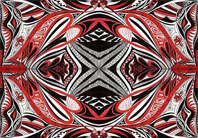 Tribe2 Print by Samar Asamoah