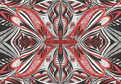 Tribe3 Print by Samar Asamoah