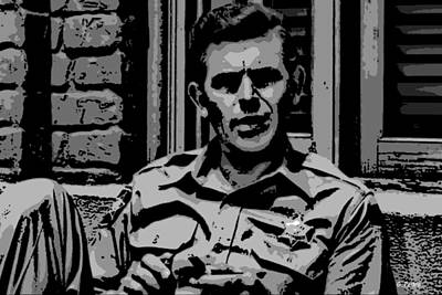 Andy Griffith Show Digital Art - Tribute To Andy by George Pedro