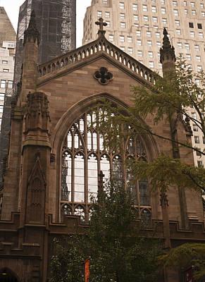 Occupy Photograph - Trinity Church 3 by Teresa Mucha