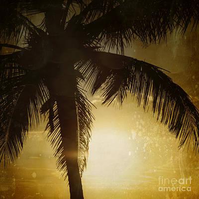 Coconuts Digital Art - Tropical Paradise by Sharon Mau