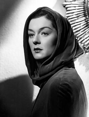 Hurrell Photograph - Trouble For Two, Rosalind Russell, 1936 by Everett