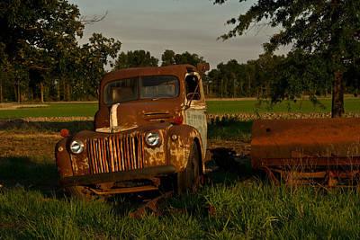 Homesickness Photograph - Truck And Tank 27 by Douglas Barnett