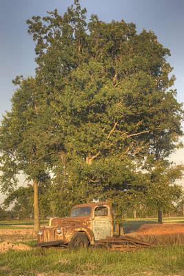 Homesickness Photograph - Truck And Tank 29 by Douglas Barnett