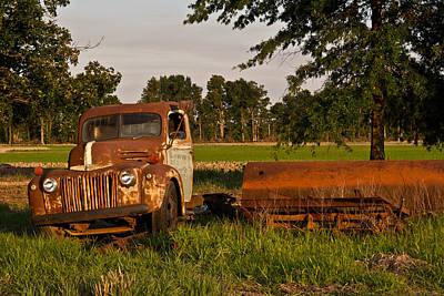Homesickness Photograph - Truck And Tank 31 by Douglas Barnett
