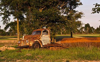 Homesickness Photograph - Truck And Tank 39 by Douglas Barnett