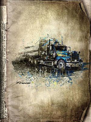 Truck Print by Svetlana Sewell