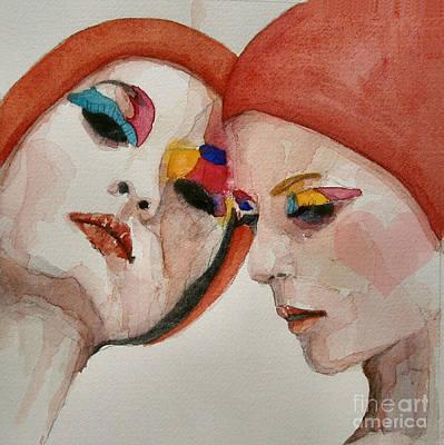 People Painting - True Colors by Paul Lovering