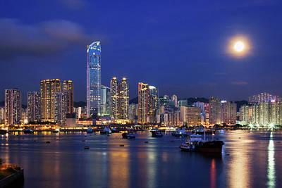 Tsuen Wan Bay Print by Tommy Au Photo