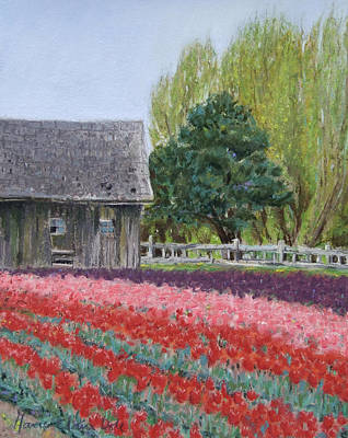 Tulip Season Print by Marie-Claire Dole