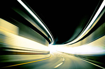 Tunnel Blur Original by Charles Saulters II