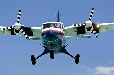 Turboprop Passenger Airplane. Print by Fernando Barozza