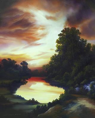 Turner's Sunrise Original by James Christopher Hill