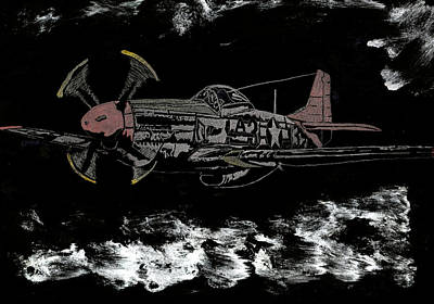 Tuskegee Night Flight Print by Jim Ross