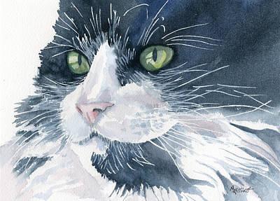 Tuxedo Print by Marsha Elliott