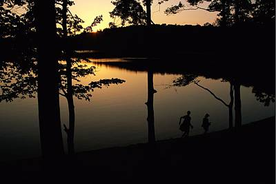 Walden Pond Photograph - Twilight Over Walden Pond, Made Famous by Tim Laman