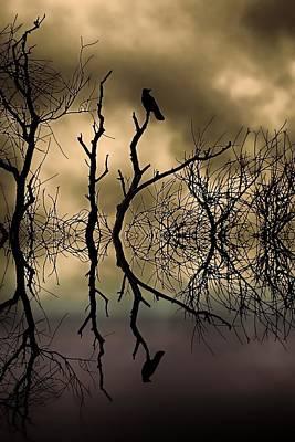 Black Top Digital Art - Twilight by Sharon Lisa Clarke