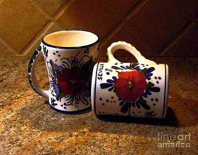 Two Cups Print by Dale   Ford