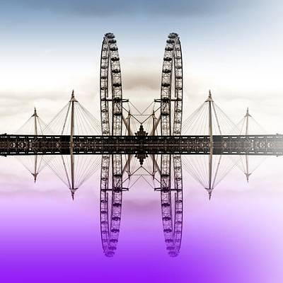 London Eye Digital Art - Two Eyes Are Better Than One by Sharon Lisa Clarke