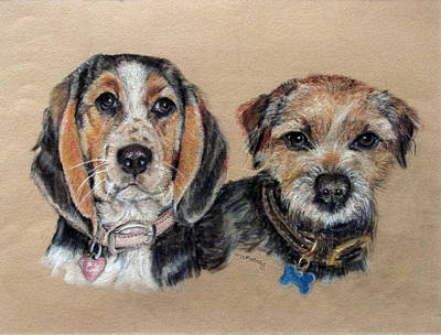 Two Friends Print by Tanya Patey