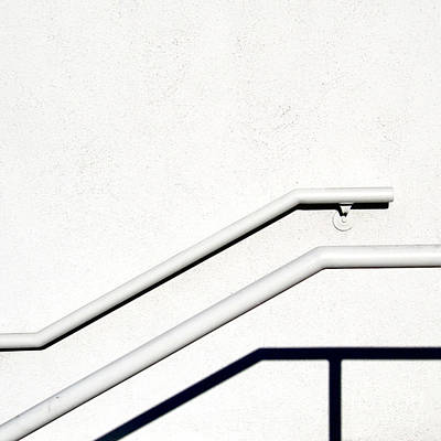 Photograph - Two Rails by CML Brown