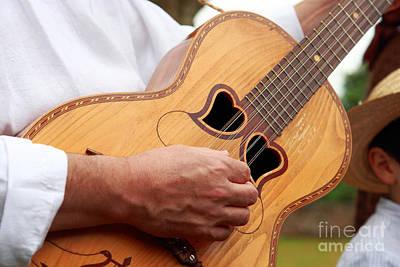 Typical Azores Guitar Print by Gaspar Avila