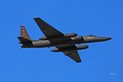 U-2 Flyover 3394 Print by David Mosby