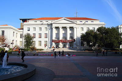 Occupy Photograph - Uc Berkeley . Sproul Hall . Sproul Plaza . Occupy Uc Berkeley . 7d9994 by Wingsdomain Art and Photography