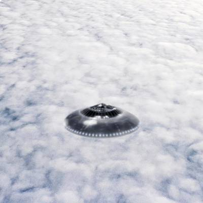 Unexplained Photograph - Ufo Sighting by Richard Kail