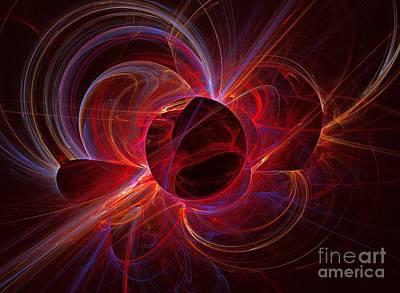 Ultraviolet Print by Kim Sy Ok