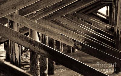 Under The Boardwalk II Print by Jeff Breiman