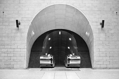 Underground Arch Way Print by Svetlana Sewell