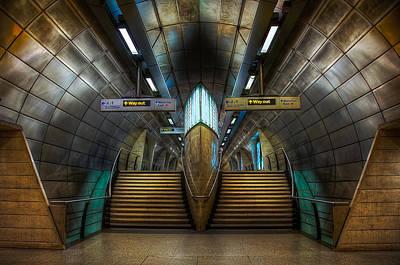 London Tube Mixed Media - Underground Ship by Svetlana Sewell